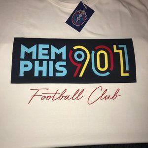 Memphis 901 FC T-Shirt XL ~ Football Club